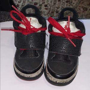 Size 6C Blk/Red Toddler Jordan son of mars